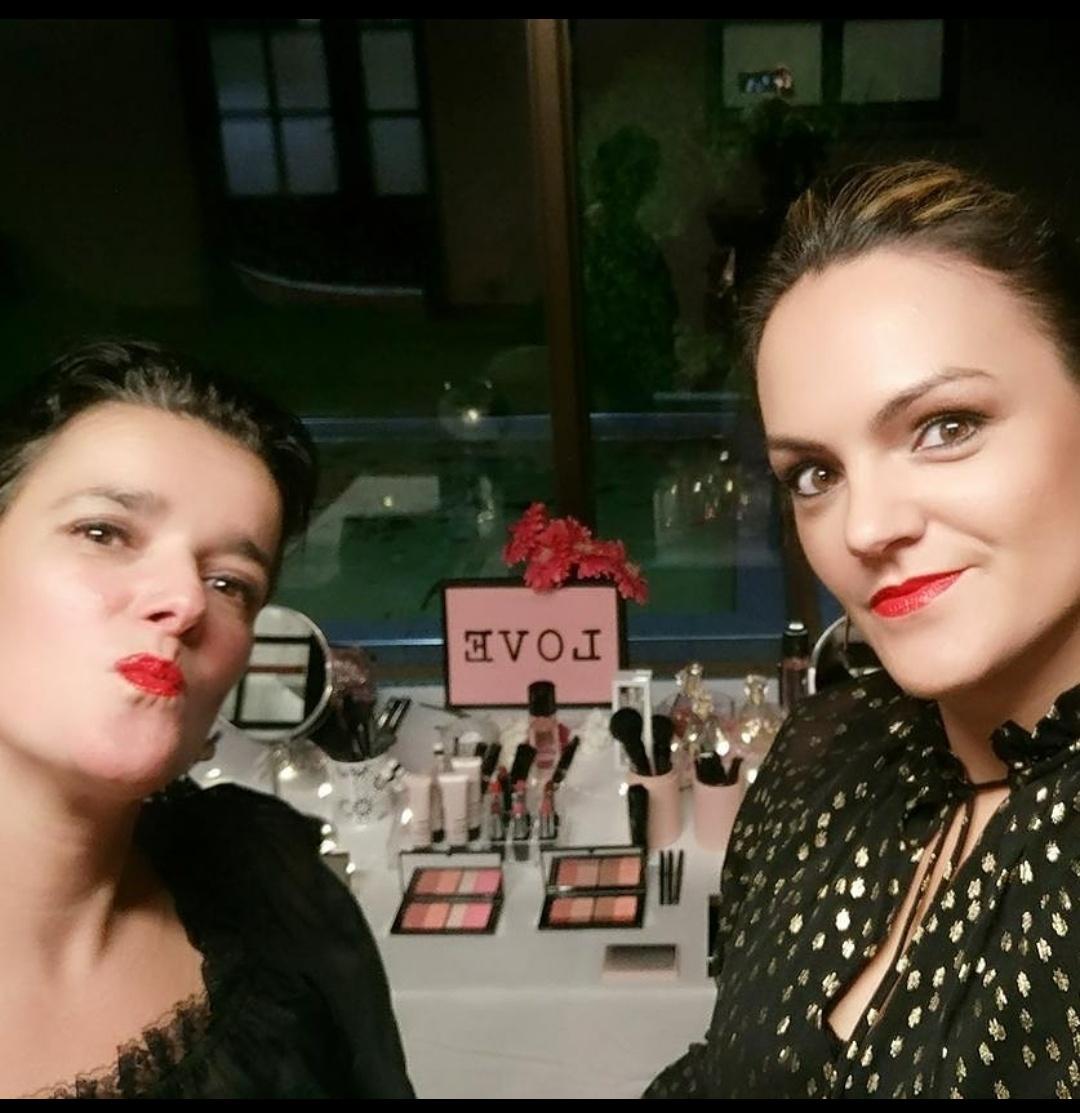 Beauty Corner con Eli Fernández otra buena amiga y Consultora de Belleza Mary Kay.