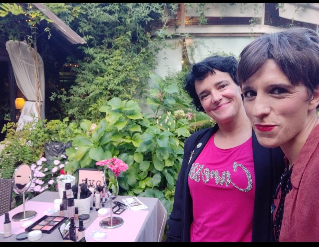 Beauty Corner con mi amiga Nerea Lendinez Garate Consultora de Belleza y Empresaria Mary Kay